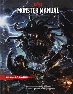 Monster Manual  D U0026d Core Rulebook   Wizards Rpg Team