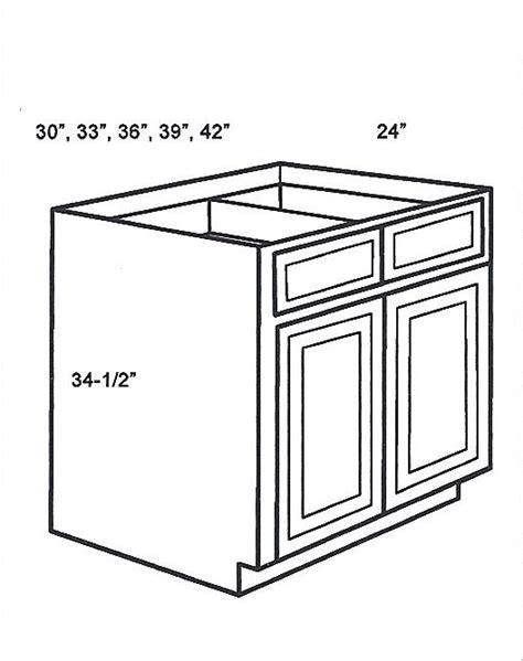b36b base cabinets double door base cabinet signature