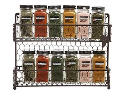 Wire Spice Shelf by Chicken Wire Mesh Used In Cabinets Armoire