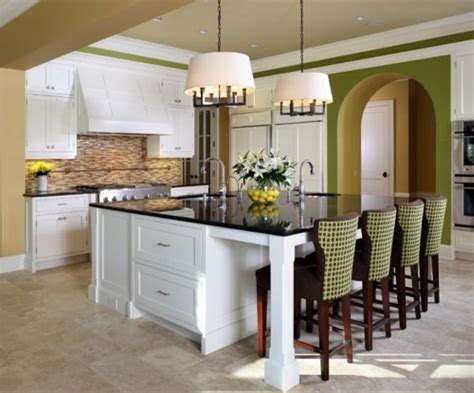 big kitchen islands awesome large kitchen islands with seating my home