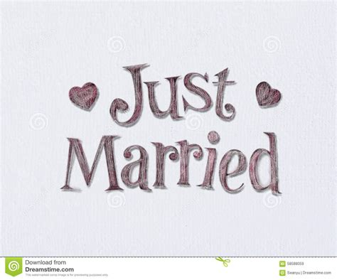 Just Married. Stock Image. Image Of Newlywed, Married
