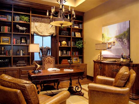 Furniture Excellent Small Home Library Design Ideas