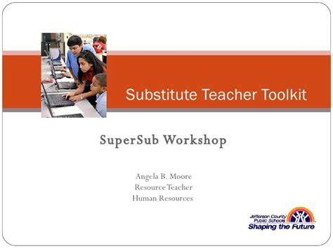 letter of understanding creating a substitute toolkit 10125