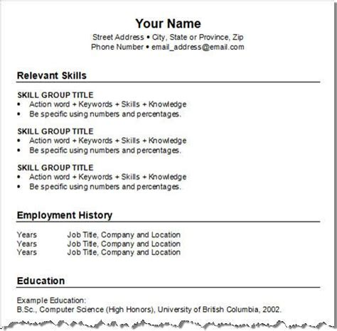 how to set out a resumes 8 best resumes images on pinterest resume help resume