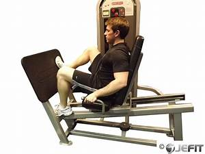 Leg Press Machine One Leg Press with Wide Stance ...