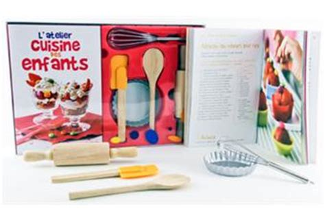 atelier enfant cuisine l atelier cuisine des enfants coffret laurence du