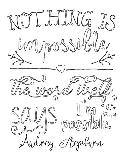 inspirational coloring pages for adults free inspirational coloring pages