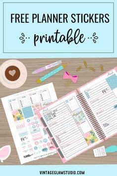 planner printables images agenda printable