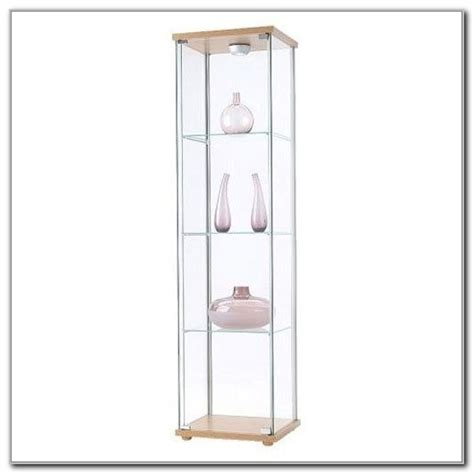 Ikea Curio Cabinet Hack by Ikea Detolf Glass Curio Display Cabinet Cabinet Home