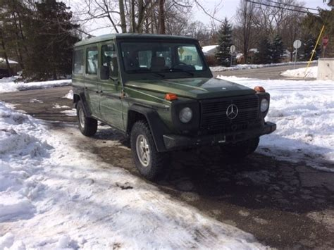 1984 Mercedesbenz G Wagon  Gclass  300gd Turbo