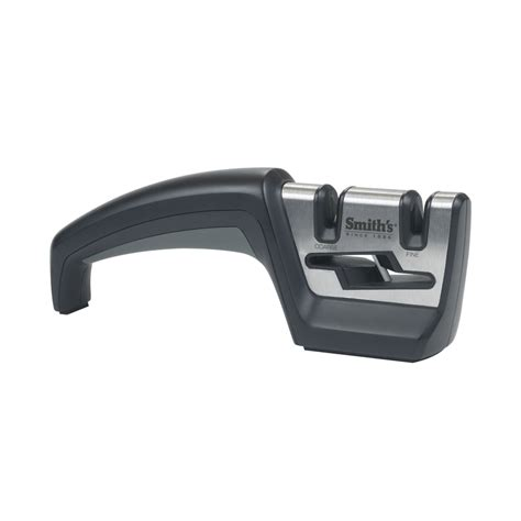 Smith S Kitchen Knife Sharpener by Shop Smith S Black Manual Pull Through Knife Sharpener At