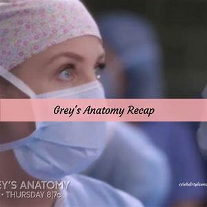 "Grey's Anatomy Recap 4/6/17: Season 13 Episode 19 ""What's ..."