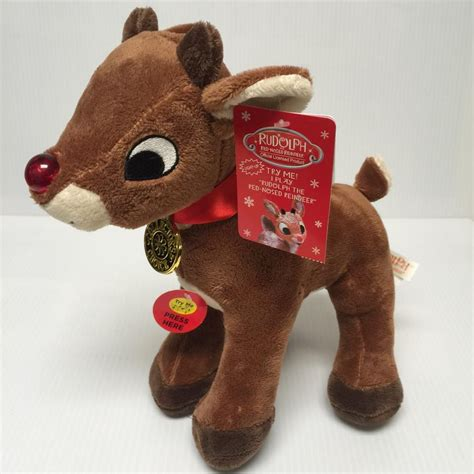 The musical is 90 minutes including 20 minute intermission. Rudolph 12 inch Light-up Musical Plush- SOLD OUT