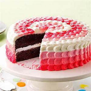 Cake with Buttercream Decorating Frosting Recipe | Taste ...