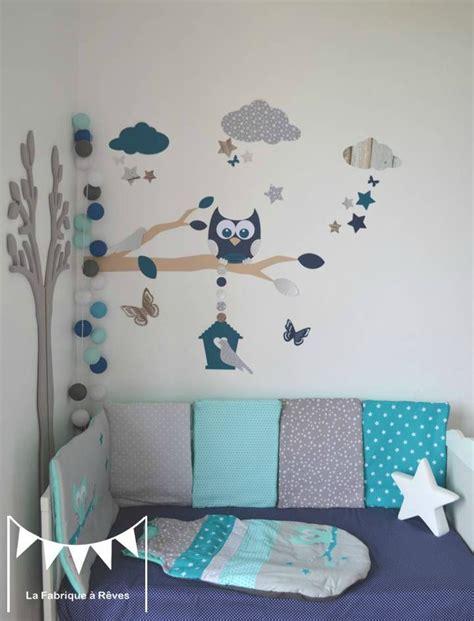 stickers decoration chambre enfant garcon bebe branche
