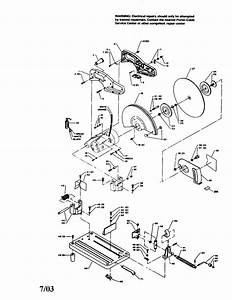 Porter Cable 1400 Power Saw Parts
