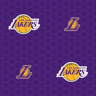 Lakers Angeles Los Purple Pattern Nba Licensed
