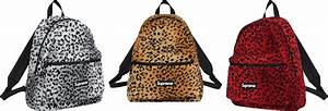 Supreme Leopard Fleece Backpack