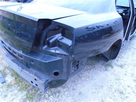 charger srt  oem rh passenger rear quarter panel