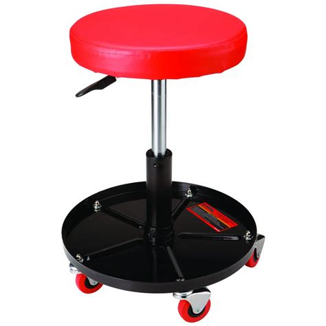 Rolling Stool by Pneumatic Adjustable Rolling Stool Seat