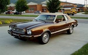 Dark Ginger Brown (Ginger Glow) 1974 Ford Mustang II Ghia Coupe - MustangAttitude.com Photo Detail