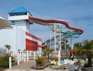 Flumes At The Indoor Swimming Pool At... © Eric Jones Cc