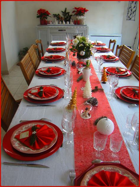 deco de table anniversairenoel  gleni