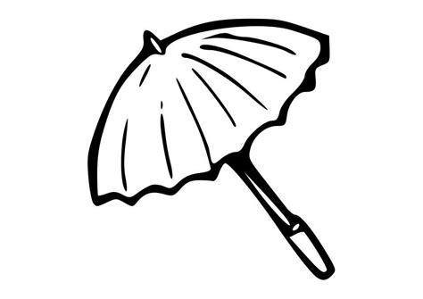 Parasol Kleurplaat kleurplaat parasol afb 19016