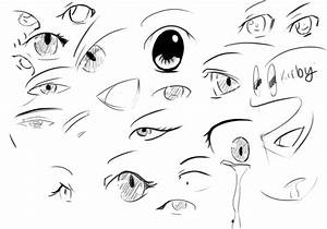 Photo Collection Scared Anime Eyes For