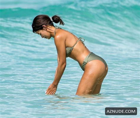 Montana Brown Shows Off Her Hot Body In Barbados Aznude