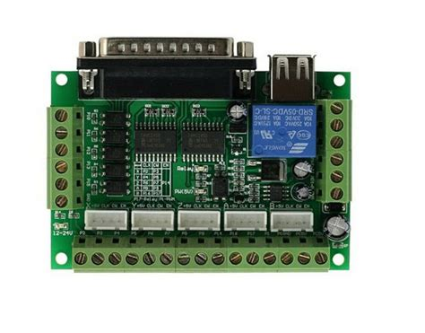 Pcs Axis Cnc Breakout Board For Stepper Driver