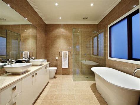 modern bathroom design with corner bath using ceramic bathroom photo 185323