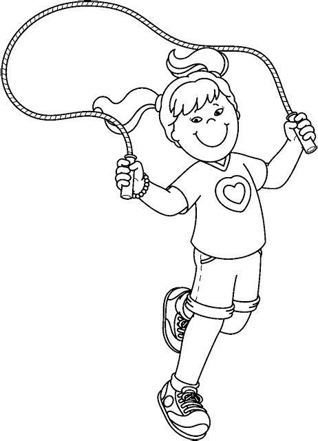 jump rope clipart black and white ni 241 os haciendo deporte