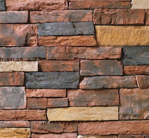 cultured stone country ledgestone red rock stone veneer