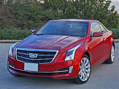 2016 Cadillac Ats Coupe 2.0l Turbo Awd Premium Road Test