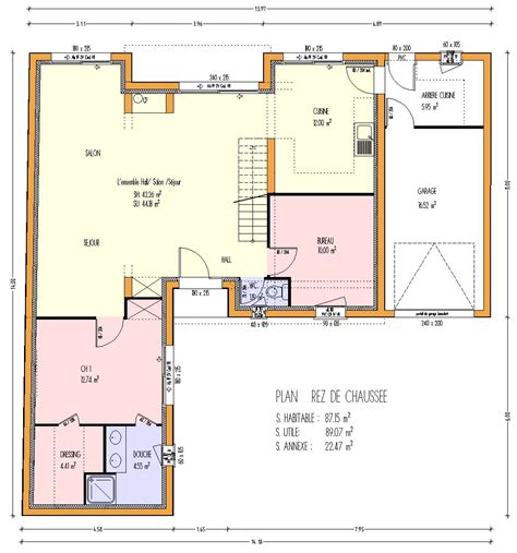 location maison 5 chambres great plan maison plan maison simple chambres plan