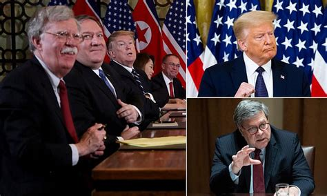 Pompeo mocked Trump, while Barr was 'worried' about his ...