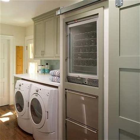 Interior Barn Doors  Contemporary  Laundry Room