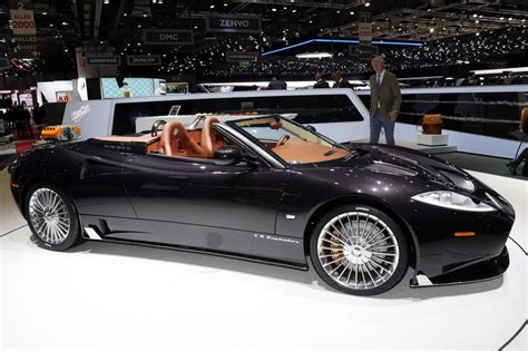 Spyker : Spyker C8 Preliator Spyder Revealed At Geneva Show