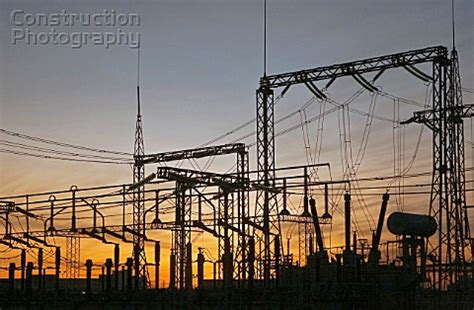 Rzhevskaya Substation With Overhead Power