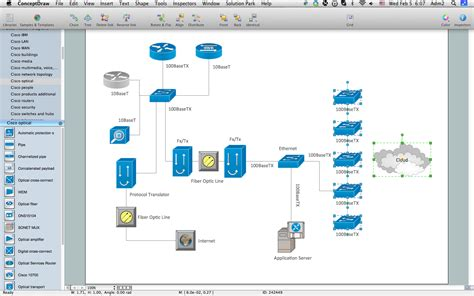 network diagramming tools design element cisco professional network drawing