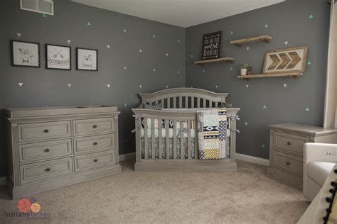 beautiful gender neutral tribal aztec nursery project