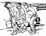 Coal Pages Mining Coloring Miner Drawing Getdrawings Excavator Getcolorings sketch template