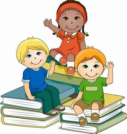 Clipart Children Clip Students Clipartion Fun Education