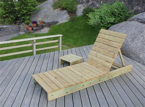 ana white garden lounger  side table diy projects