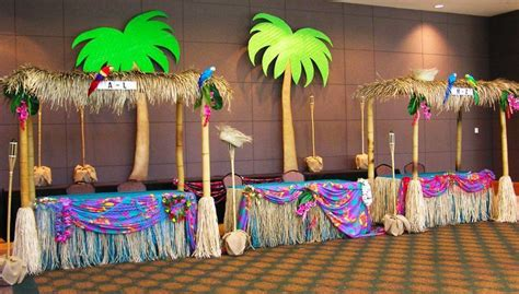 image result  island theme party decorating ideas