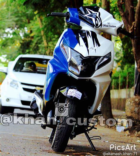 Modified Bikes Honda by Honda Dio Modified By Khan Custom Khan Custom Honda