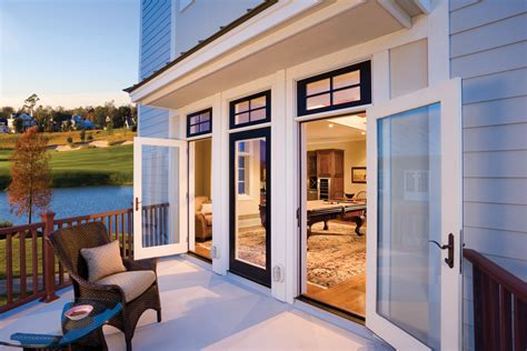 Outswinging Patio Doors by Make A Memorable Entrance Things To Consider When
