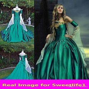 Vintage Medieval Renaissance Ball Gown Evening Princess ...