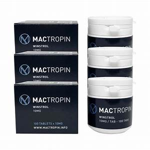 Pack Weight Loss Oral - Mactropin - Winstrol  6 Weeks